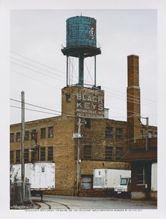 I love water towers.
