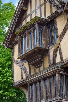 Beautiful half timber window.