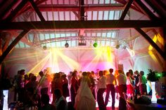 Redhouse Barn wedding venue has some serious surprises in store including a Bose® sound system, light-up dancefloor and full professional lighting rig | www.pwilletts.com