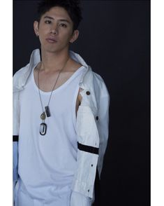 Looking immaculately gorgeous in white. Still didn't hide his magnetic appeal. his bad boy persona. Takahiro Moriuchi, One Ok Rock, Asian Men, Asian Guys, Wattpad, Bad Boys, Rock Bands, Music, Idea Rock
