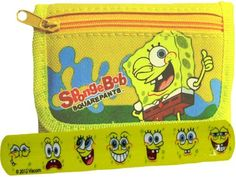 Fun Spongebob Yellow Wallet and LCD Watch for Kids by Nickelodeon. $14.50