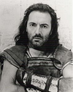 """Armand Assante as King Odysseus in """"The Odyssey"""" Armand Assante, Warrior King, Greek History, Reading Rainbow, Yesterday And Today, Historical Costume, Series Movies, Hollywood Stars, A Good Man"""