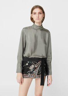 Printed skirt pants -  Women | MANGO USA