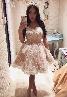 homecoming dresses, short pink prom dresses, ball gown dresses, cheap a-line fashion dresses.
