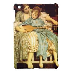 The Music Lesson by Frederic Leighton Case For The iPad Mini
