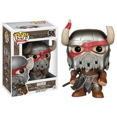 The Elder Scrolls Skyrim POP Nord Vinyl Figure