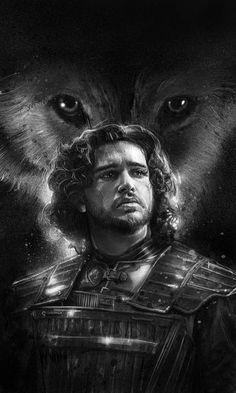 Tatuagem Game Of Thrones, Dessin Game Of Thrones, Game Of Thrones Poster, Game Of Thrones Tv, Jon Snow, Winter Is Here, Winter Is Coming, Jon Schnee, Portraits