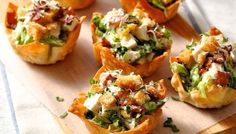 Chicken wonton cups. Find more parenting information, easy family recipes, activities, product trials, competitions and more on Kidspot.