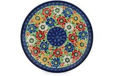 Polish Pottery 10-inch Plate | Boleslawiec Stoneware | Polmedia H9109C