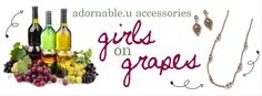 girls on grapes adornable.u theme party