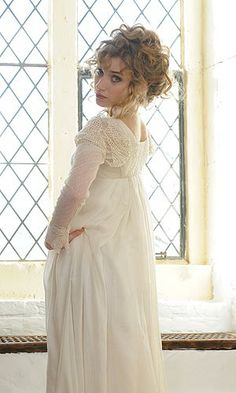 Using these pictures as a visual representation of my Regency Era RPG character, the Honourable Miss Mariah Strong. This picture sums her up rather well.