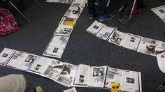 4th graders #textmapping. Thanks Kristy Jackson!