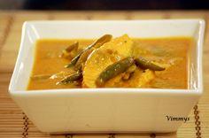 Fish Curry with Mango (Kerala, Indian Recipe)