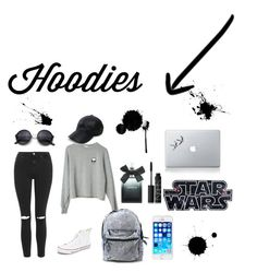 """Hodies❤️"" by matildehedrich ❤ liked on Polyvore featuring Topshop, Converse, Vianel, NARS Cosmetics, Torrid, women's clothing, women's fashion, women, female and woman"