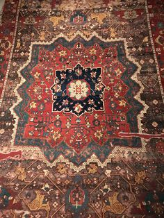 Oushak Carpet From Western Turkey Located At The Hali Museum In - Where is turkey located
