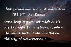 Most Noble Quran, Surah Az-Zumar.