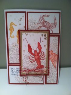 Such a Great Stampin' Up Card!!! Hand stamped By: Lynda Pelletier.