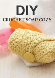 Make your soap last longer and use up that yarn stash with this free pattern for a Crochet Soap Cozy!