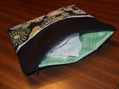 waterproof zippered bag tutorial.