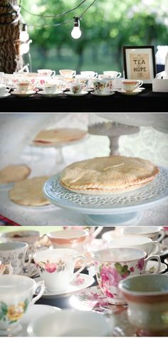 A really over the top swanky adult tea party would be fun. All the finger sandwiches, and pinkies up, and all that fun stuff.