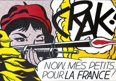 Lichtenstein's Monocularity: Notch: Roy Lichtenstein: Crak! (1963)