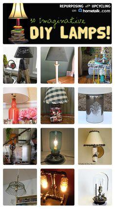 diy how to wire a lamp diy lighting shades pinterest rh pinterest com