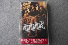 Confederate Railroad Cassette Notorious Redneck Romeo Move Over Madonna Dixie