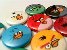 Angry Birds Pins
