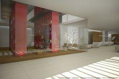Interiors | By Cristina Jorge de Carvalho Interior Design | Conceptual Project | IDA Awarded Project | Champalimaud Foundation | Lisbon
