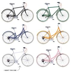 Public bikes. Actually, we want them all!