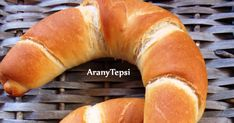 Bread Bun, Hungarian Recipes, Bread And Pastries, Pastry Recipes, Bagel, Sausage, Food And Drink, Baking, Diet