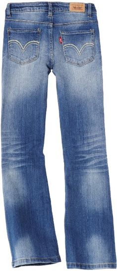 Levi's Girls 7-16 Regs 5524 Skinny Flare Jean: Clothing    http://ll.gy/286