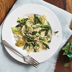 Asparagus Farfalle | CookingLight.com