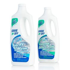 Grime Off 2-pack Power Washer Solution