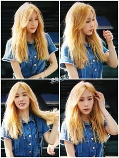 Taeyeon is rocking that new hair!!!