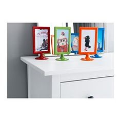 IKEA - TOLSBY, Frame for 2 pictures, You can display one picture on each side as the frame has no back panel.You can easily change pictures by sliding up the front panel and inserting the picture.