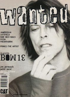"""bowiepills: """"David Bowie - Magazine covers, 1999 See others here """""""
