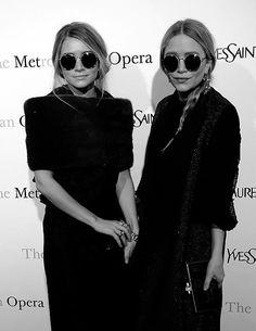 Mary Kate and Ashley Olsen