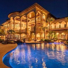 Mega Mansions, Mansions Homes, Abandoned Mansions, Luxury Mansions, Abandoned Houses, Cool Mansions, Dream Home Design, Modern House Design, Style At Home