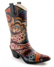 Corkys Rodeo Rainboot: Funky, unique and colourful Rainboots you can wear all year. Whether you're out in the garden or out and about on a rainy day, Corkys Rainboots will help you do it in style.