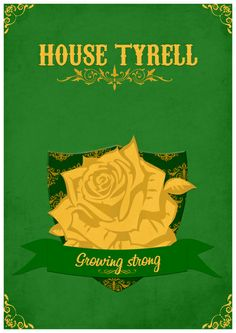 Game of Thrones - House Tyrell by Teacuppiranha