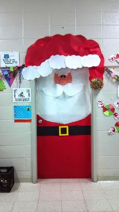 Santa Door…Too Cute!!!