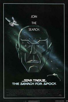 Star Trek III: The Search for Spock One Sheet Movie Poster William Shatner 1984 1984 Movie, Spock, Stars, Star Trek Posters, Classic 80s Movies, Movie Posters, Film Posters, Star Trek, Movie Posters Vintage