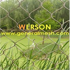 Stainless steel rope (cable)mesh ,stainless steel zoo mesh ,animal soft mesh ,aviary security mesh,zoo security mesh,Bird Control Netting,flexmesh plant trellis,stainless steel garden trellis,flex mesh, hand woven Stainless Steel Mesh ,zoo mesh ,bird net ,wire deck netting, stair infilling mesh,zoo net ,cable net ,animal net,animal enclosure net , Zoo mesh cage,bird cage,zoo animal mesh fence ----- http://www.generalmesh.com/wiremesh/zoo-mesh.html