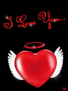 Download Animated 240x320 «I love you» Cell Phone Wallpaper. Category: All for Girls