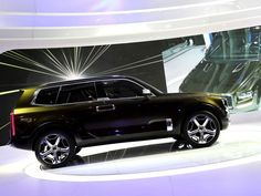 KIA Telluride Concept SUV is unveiled during the 2016 North American International Auto Show held at Cobo Center in downtown Detroit on Monday, January Detroit Auto Show, January 11, Cool Cars, Concept, In This Moment, American
