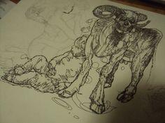 Sketch ink