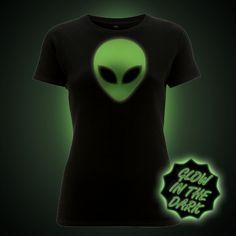 Glow in the dark t-shirts unique designs from Block t-shirts. Quick charging glow printed onto high quality ethical t-shirts The Darkest, Glow, T Shirts For Women, Trending Outfits, Mens Tops, Cat, Clothes, Halloween, Outfits