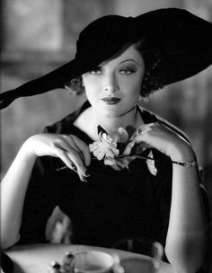 Myrna Loy | Golden Age of Hollywood. Good Lord, she's fabulous!