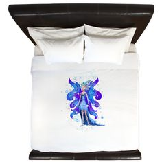 King Duvet www.teeliesfairygarden.com The perfect soft cottony cover for your duvet. #fairyduvetcover